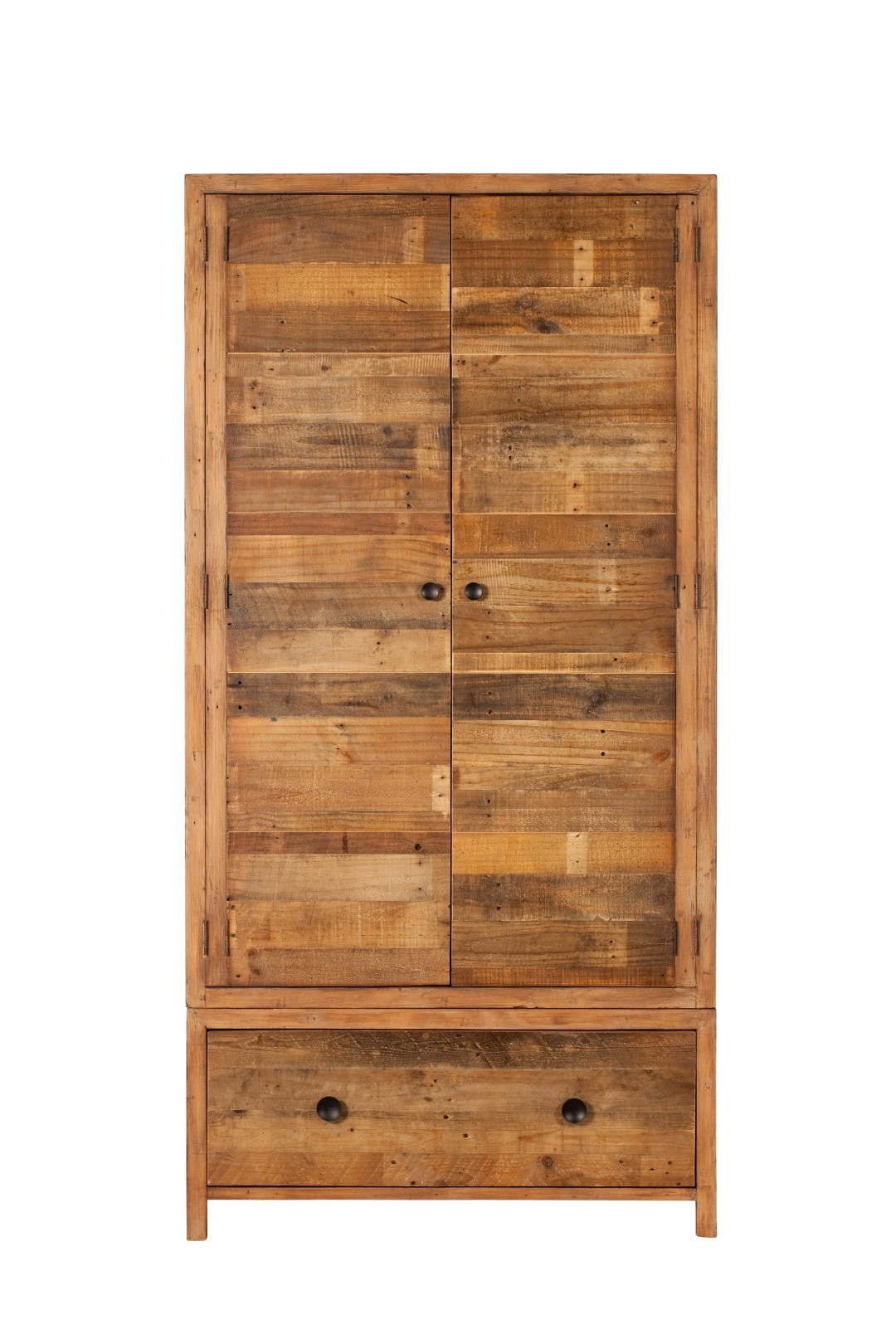 Industrial Wardrobes Brooklyn Industrial Wardrobe Reclaimed Solid Wood Casa