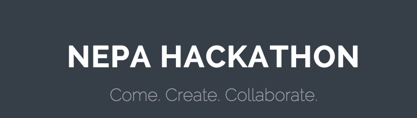 The NEPA Hackathon is Back for 2015