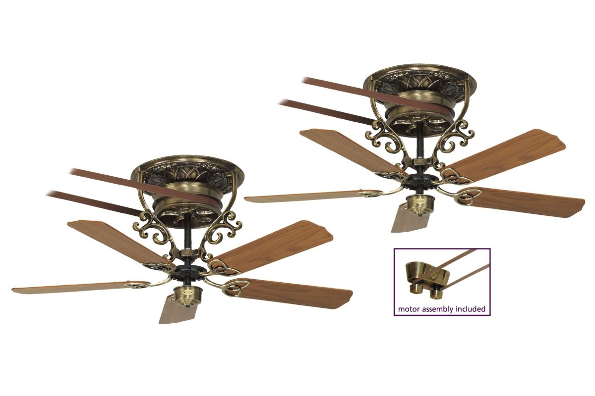Belt Driven Ceiling Fans Bourbon Street Ceiling Fan Antique Brass Casa Bruno