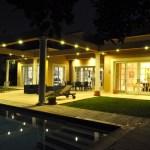 Evening at Casa Caesarea