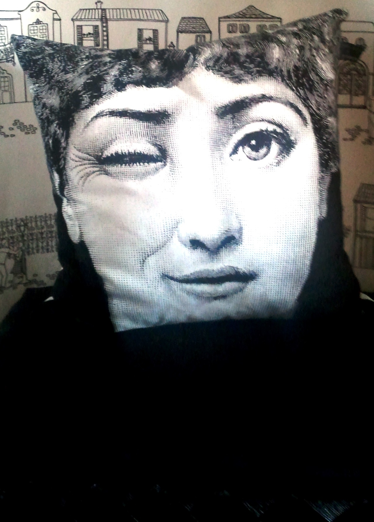 Fornasetti Face Wallpaper More Beauty By Piero Fornasetti Casa Di Mia