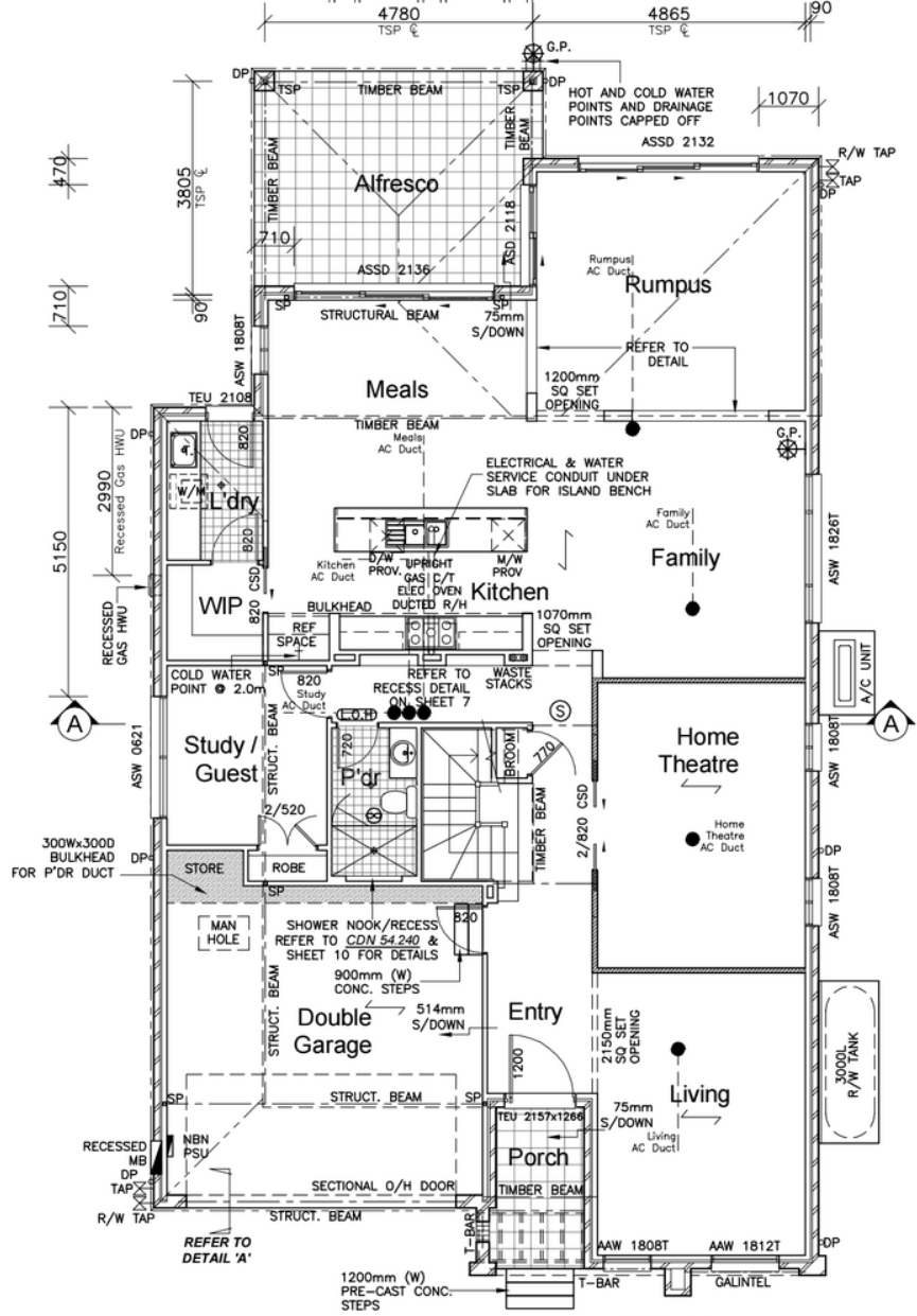 electrical plan for new home construction