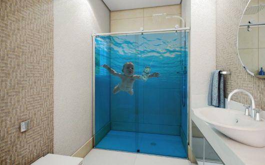 Ebay 3d Wallpaper Photo Adesivos Para Banheiro Modelos Tipos E 60 Fotos