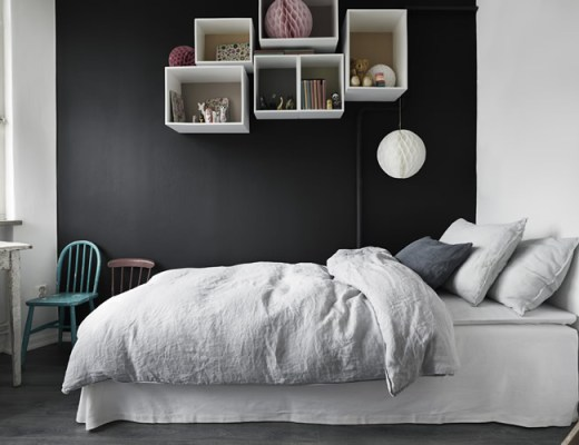 Gorgeous black walls | Hermosas paredes negras | casahaus.net