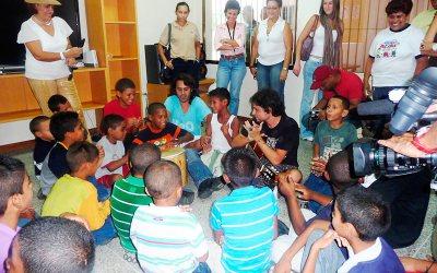 """Visita al Centro """"Al Fin"""": Servando y Florentino"""