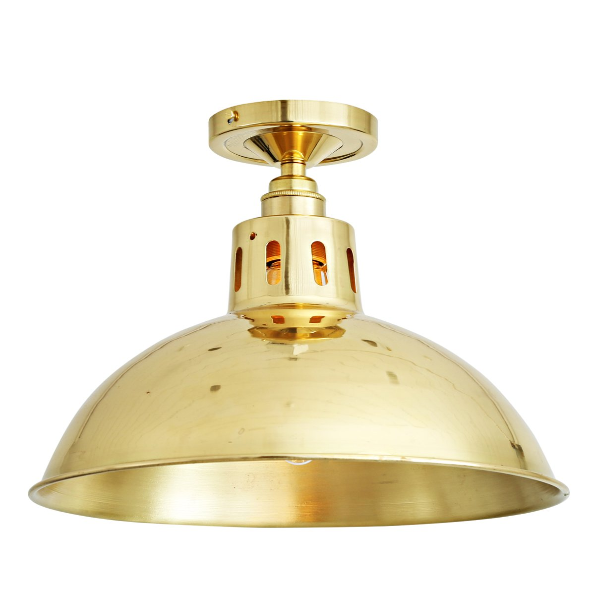 Deckenleuchte Industrial Industrial Ceiling Light Made Of Brass Casa Lumi