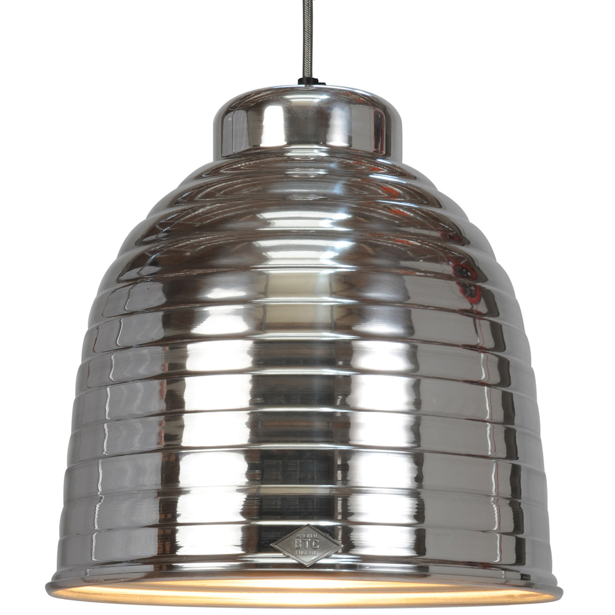 Industrial Style Lampen Voluminous Pendulum Lamp In Industrial Style Ripple Casa