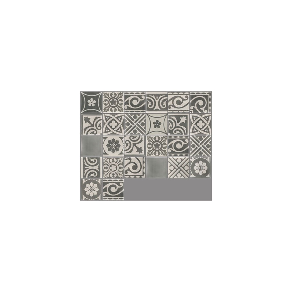 Patchwork Carreaux Ciment Carreau De Ciment Coloré Patchwork Camaïeu De Gris Pw 25 Casalux Home Design