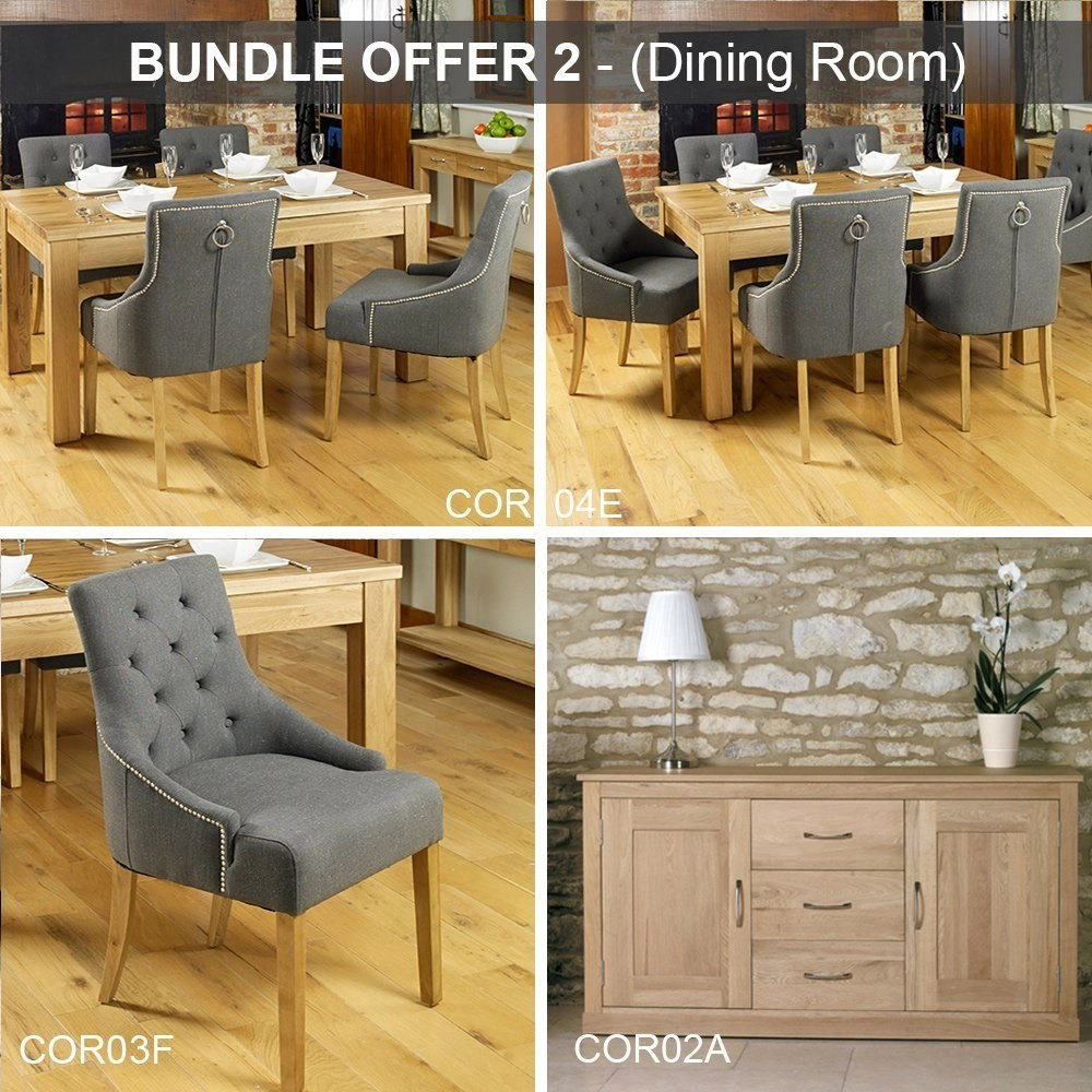 Home Möbel 24 Baumhaus Mobel Oak Dining Room Bundle