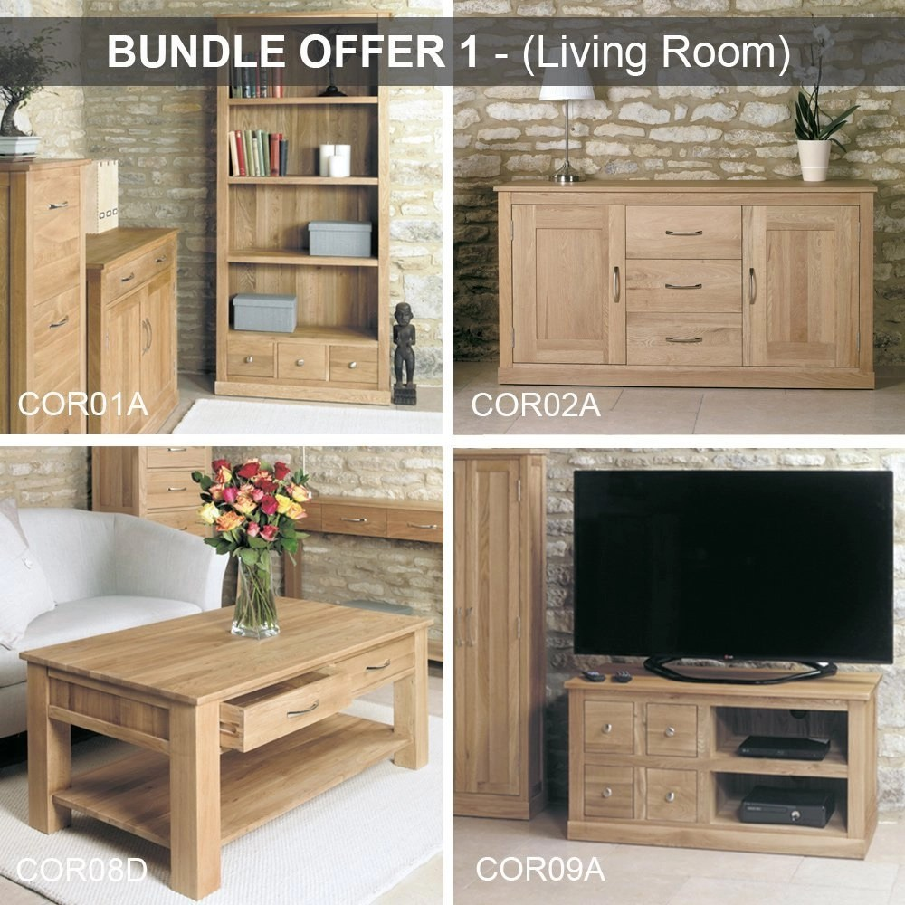 Home Möbel 24 Baumhaus Mobel Oak Living Room Bundle