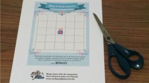 Bingo para chás de casamento