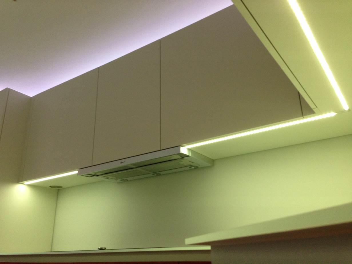 Küche Beleuchtung Arbeitsfläche   Unterbauleuchte Küche Hornbach ...