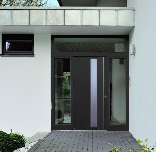 Look through our premium aluminium entry front door panels for your