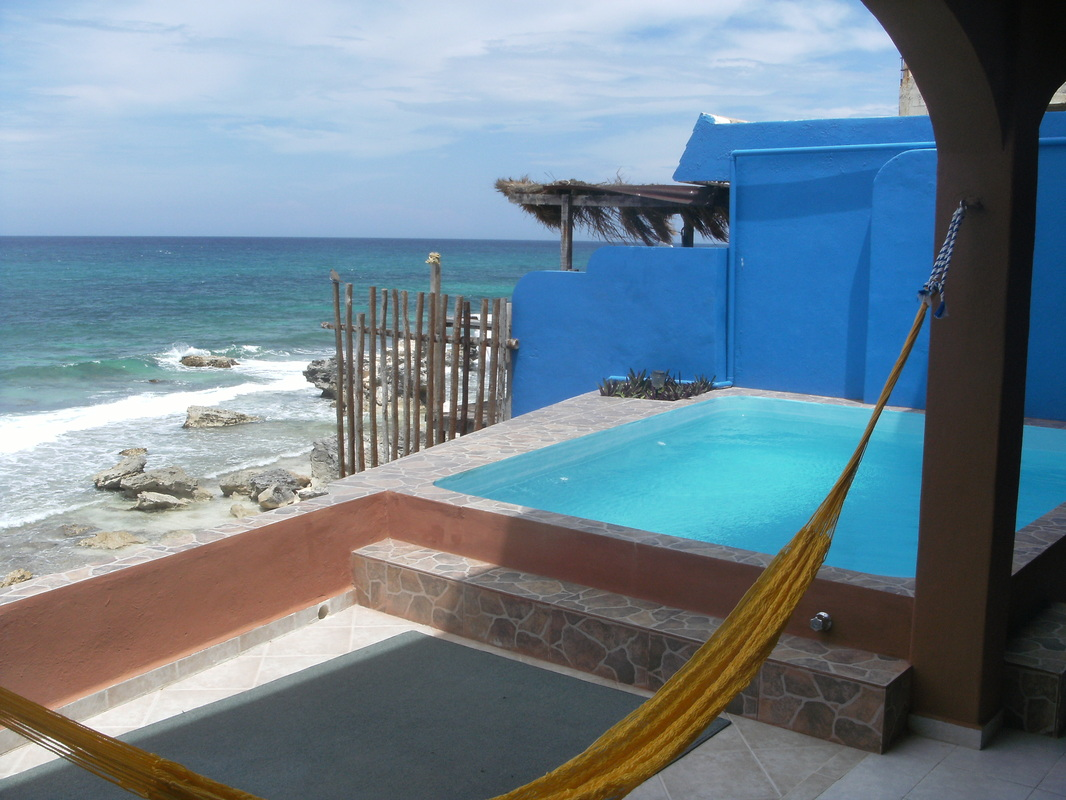 Pool And Jacuzzi Pool And Jacuzzi Accessibility Jimbo Karen S Casa Roca Caribe