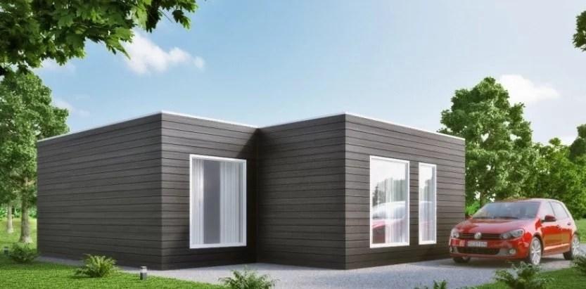 Casa prefabricada moderna modelo m02 627 233 751 - Casa prefabricada moderna ...