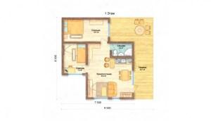 Casa prefabricada moderna M02 (2)