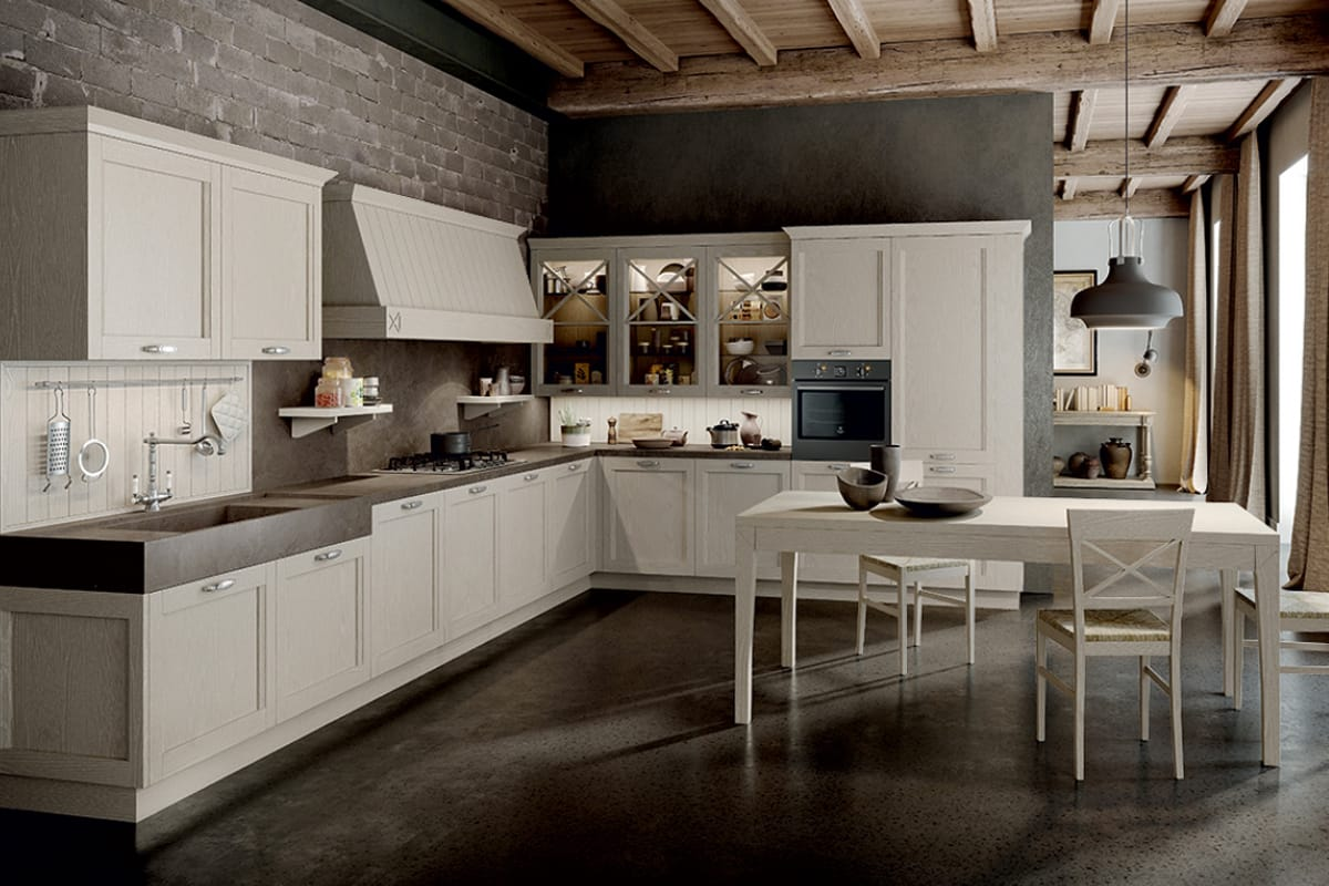 Cucina Country Angolare Cucine Classiche And Shabby Chic Casastore Salerno