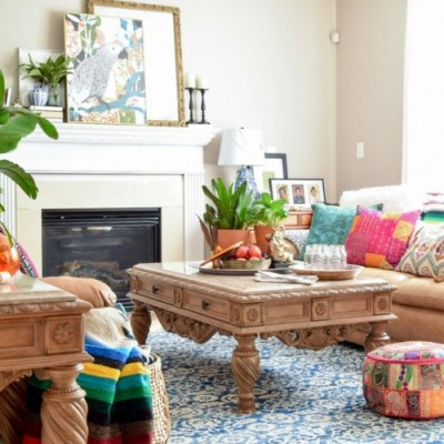 How To Decorate With Pops of Color For Fall
