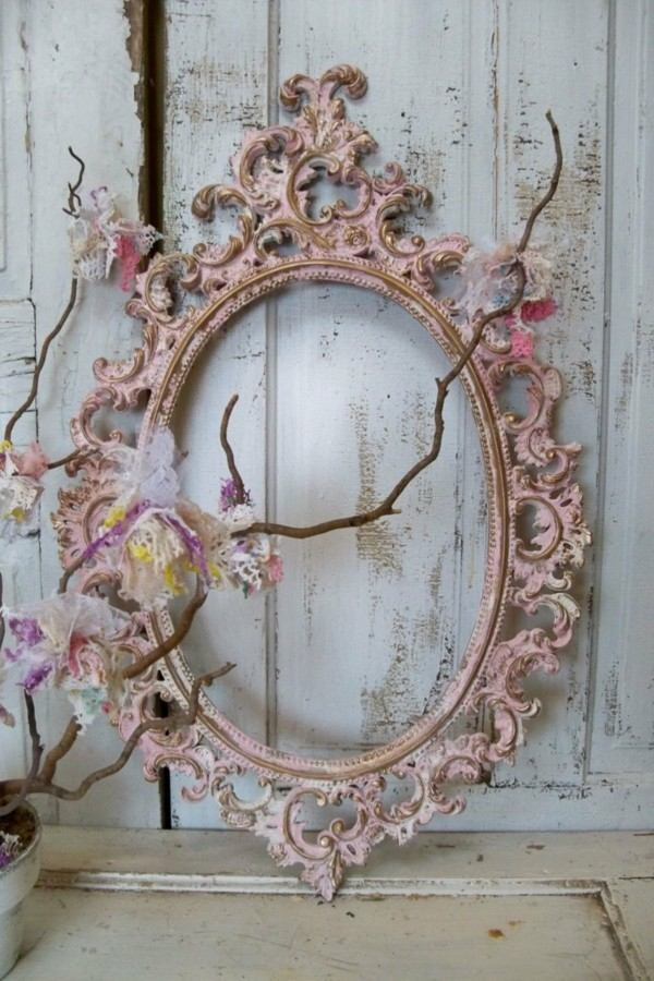 Lampara Con Fotos Shabby Chic - 25 Ideas Para Un Estilo Sublime