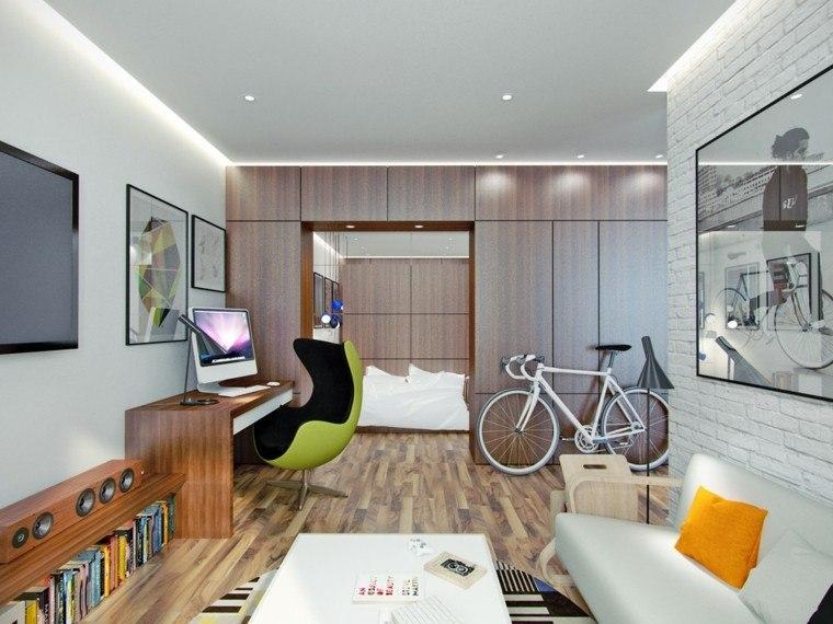 Pin by Ideas Para Tu Hogar on Apartamentos peques Pinterest Loft