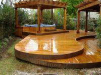 Pergolas jardin de madera, una zona de recreo ideal