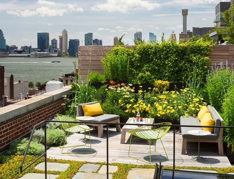 Diseno Jardin Y Variadas Ideas Para Azoteas Con Vida