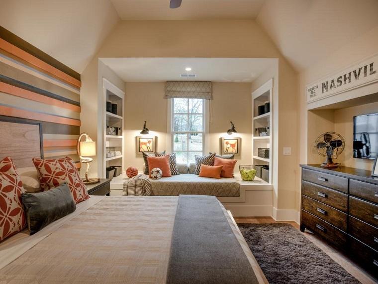Dormitorios juveniles 100 ideas para tu adolescente - - Decoracion De Recamaras Para Jovenes Hombres