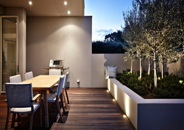 Amenagement Terrasse Pinterest Luces Led - Llena De Color Y Vida Tu Espacio Exterior.
