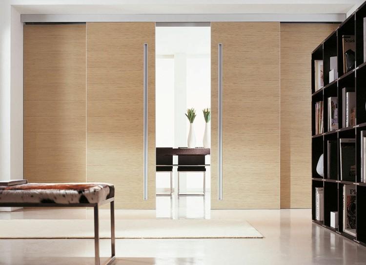 Puerta corredera - 50 modelos para un espacio funcional - Modelo De Puertas Corredizas