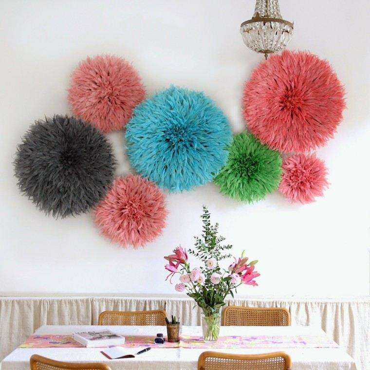Muebles Bonitos Para Sala Plumas Para Decorar - Cincuenta Ideas Originales