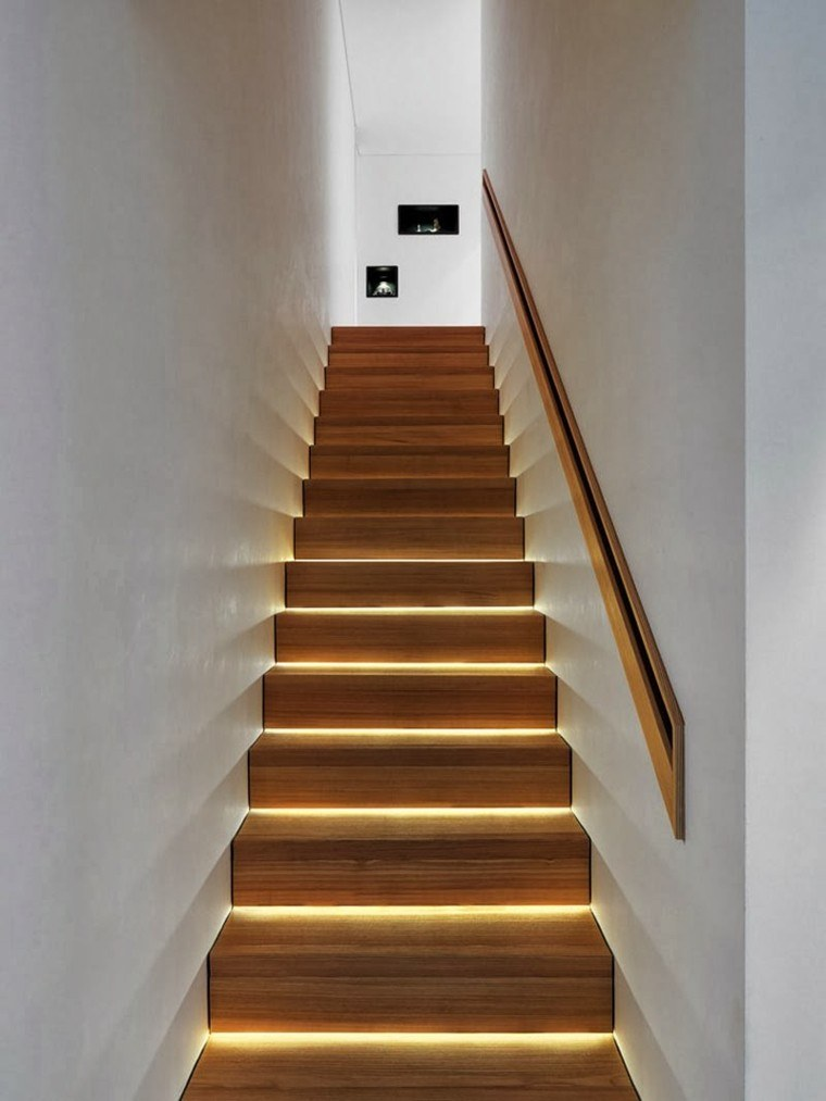 Led Superficie Escaleras De Interior Y Exterior Con Iluminación Led