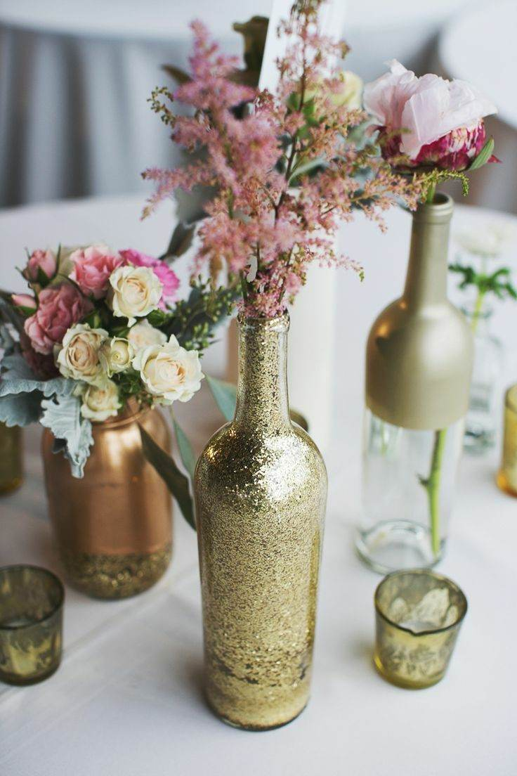 Botellas De Vidrio Decoradas Para Boda Decoracion Con Botellas Reciclar Puede Ser Divertido