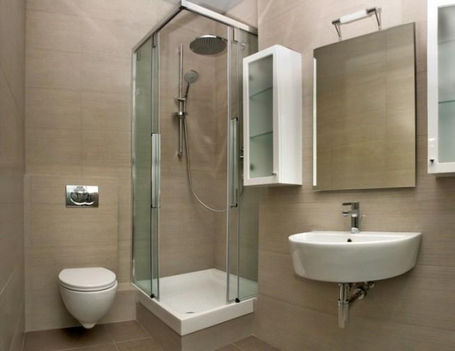 Baño Pequeno Original:The post Duchas: 50 opciones para baños pequeños appeared first on