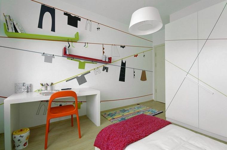 Repisas Flotantes Infantiles.Estanterias Para Habitaciones Infantiles 50 Ideas Geniales Acc 40