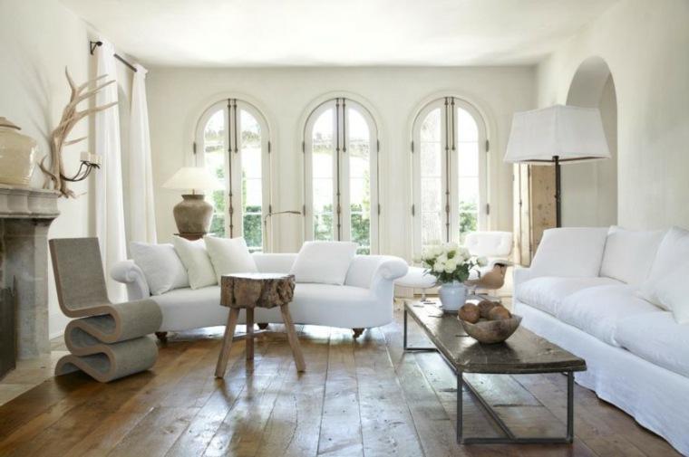 Salones En Blanco Descubra Los 100 Interiores Mas Modernos