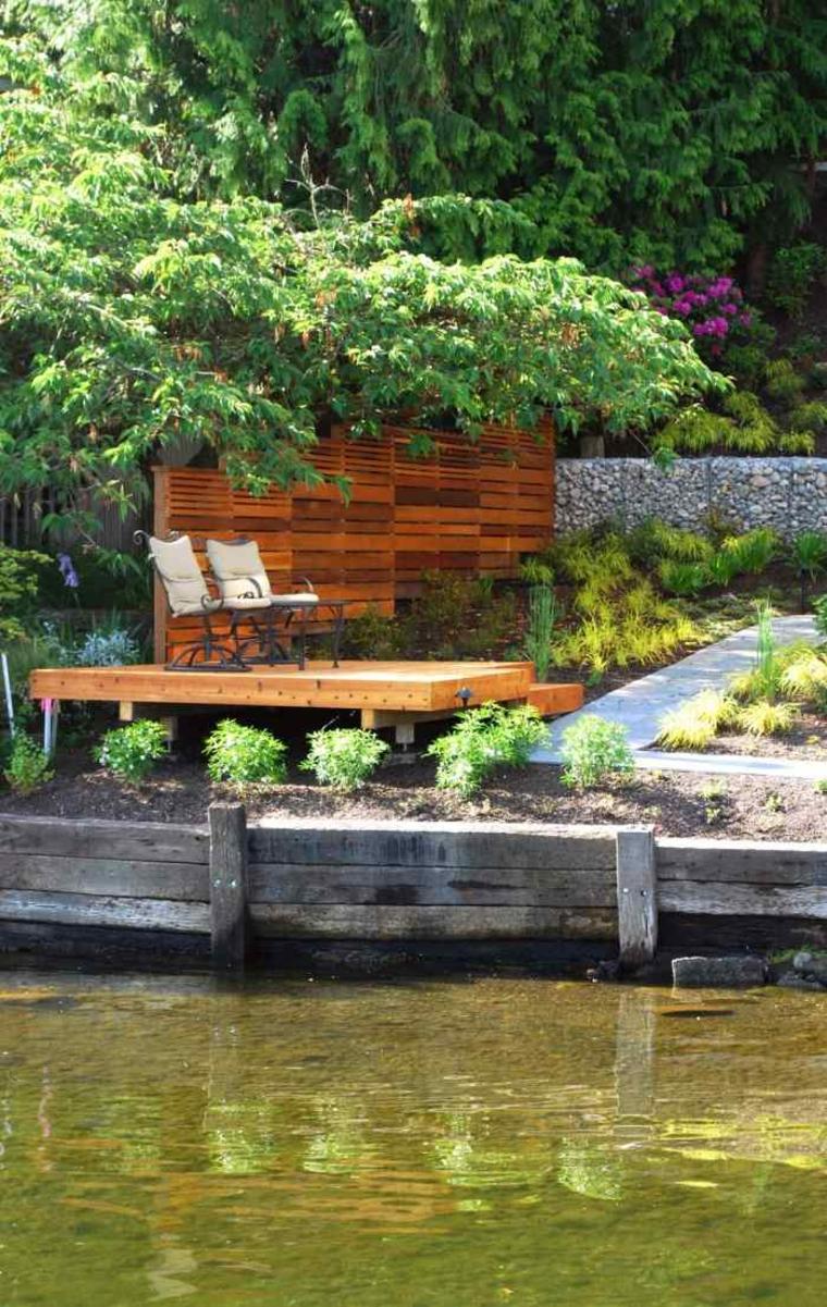 gaviones decorativos para patios y jardines 34 ideas estupoedna fuente piedra Gaviones Decorativos Para Patios Y Jardines 34 Ideas