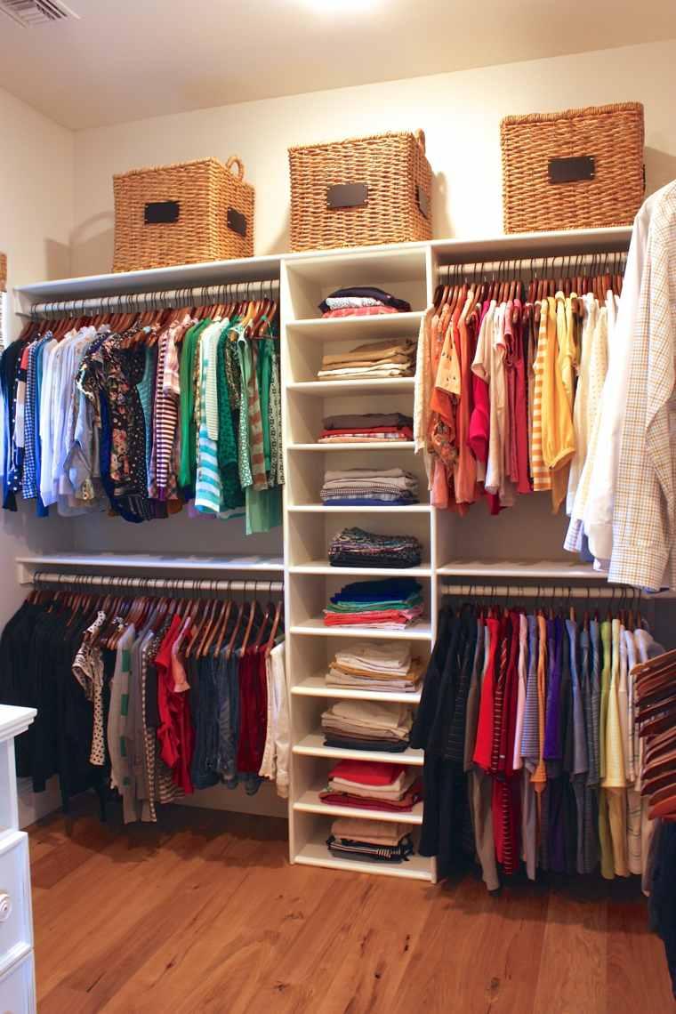 Como ordenar un closet pequeno como organizar un closet - Como organizar un armario empotrado pequeno ...