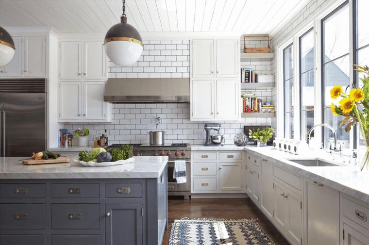 Cocina Blanca 42 Disenos De Cocinas Que Te Encantaran