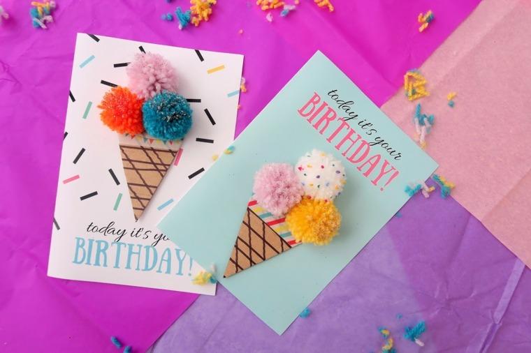 Tarjetas de cumpleaños diy - ideas creativas y diseños originales -