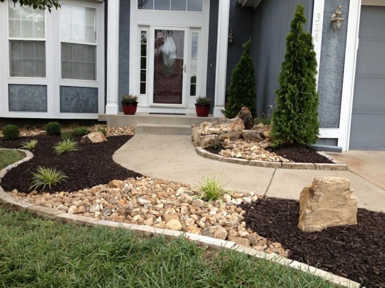 Como Hacer Un Jardin Con Piedras Rocas Y Plantas