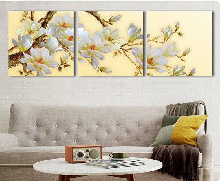 3d Wallpaper For Master Bedroom Decoracion De Paredes De Salon Moderno Y Elegante