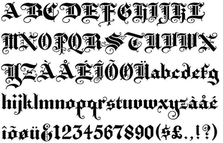Letras para tatuajes - descubre el estilo que encaja con tu - Letras Para Tatuajes