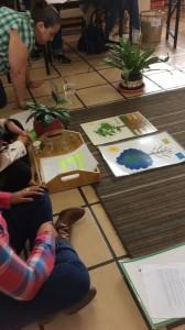¡Cartelones impresionistas! Gran maravilla creada por la Doctora Montessori.