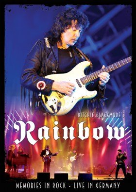Rainbow Memories In Rock DVD cover lr