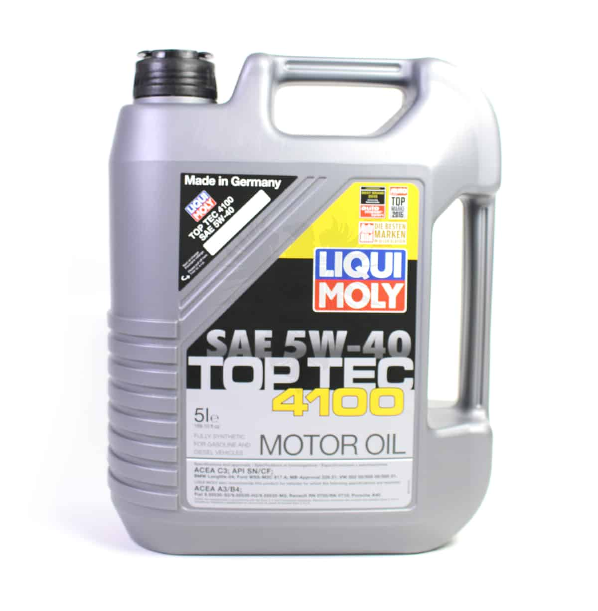 5 W 40 Engine Oil Liqui Moly 505 01 505 00 5w 40 5l