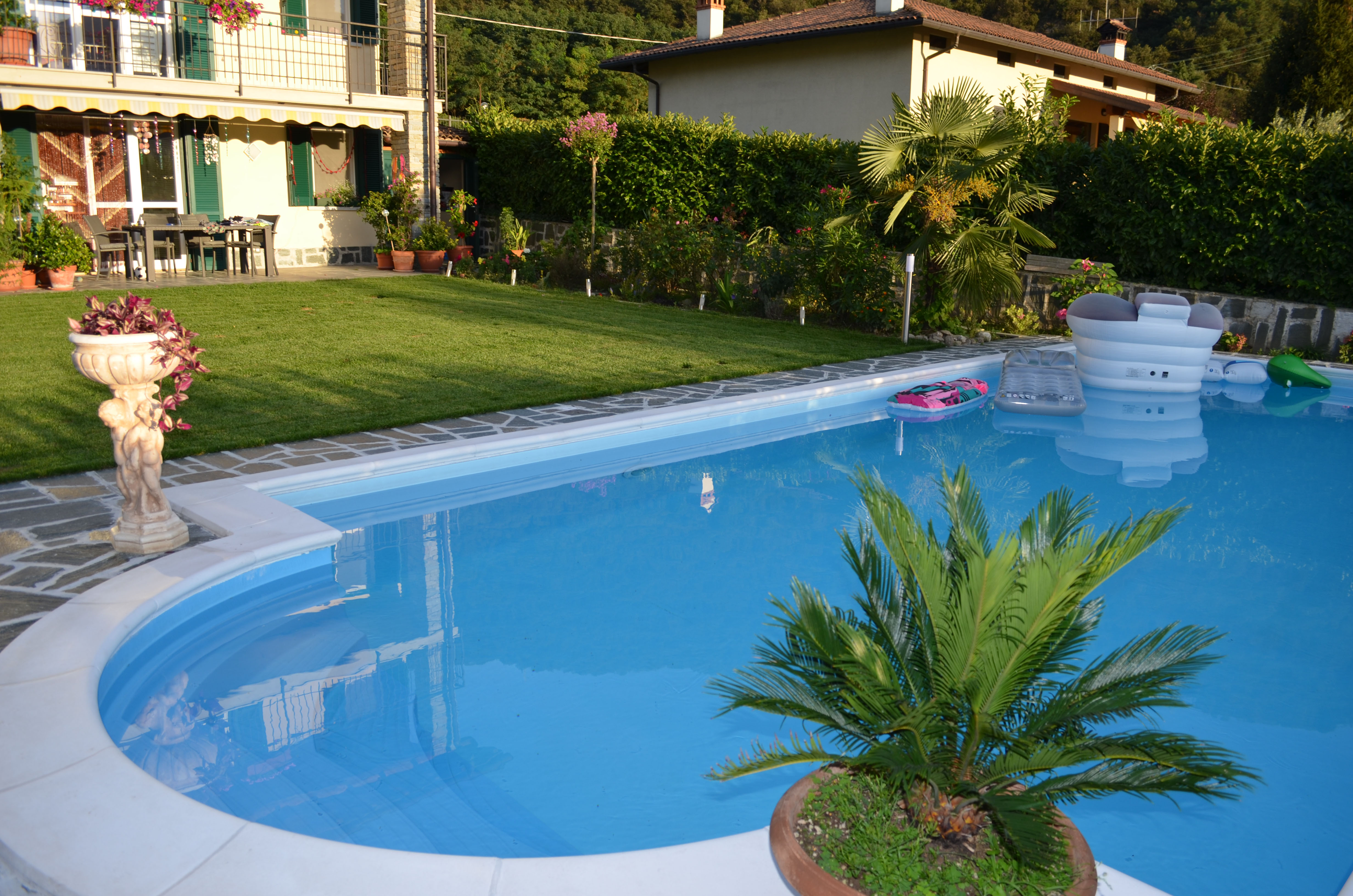 Pool Garten Winter Casa Romantica For Up To 10 People With Private Pool Views Over