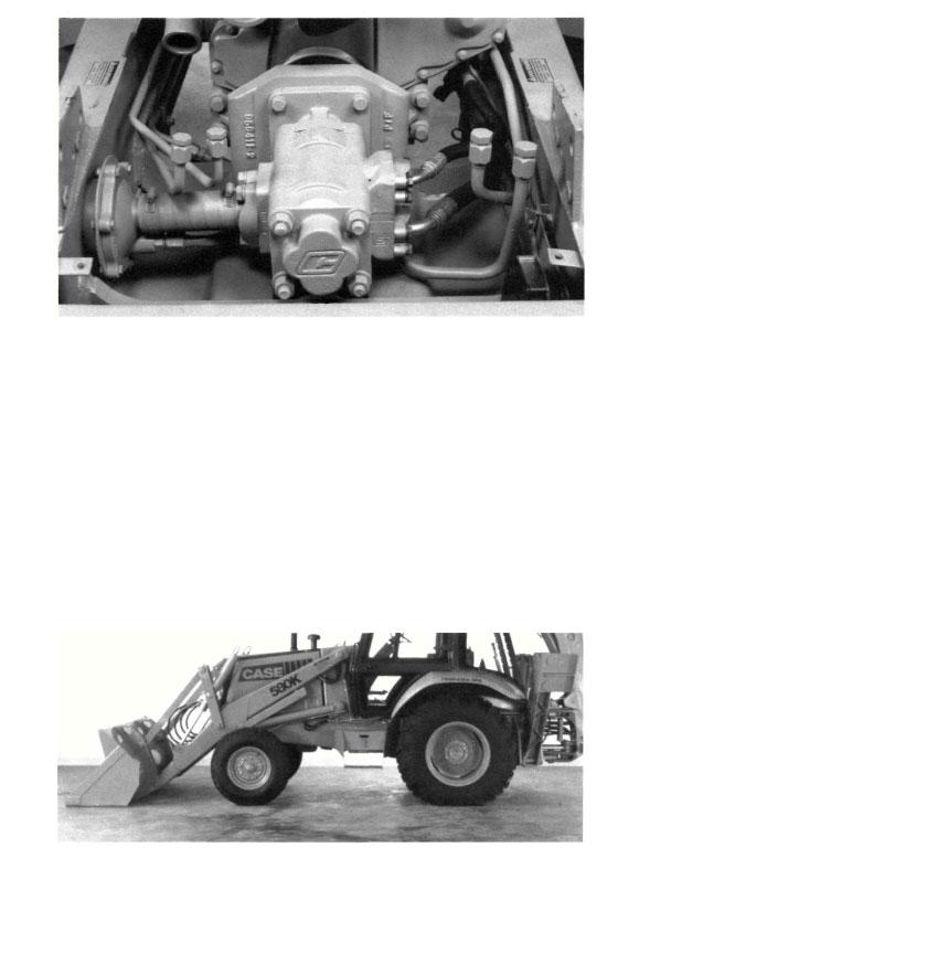 Case 580K Backhoe