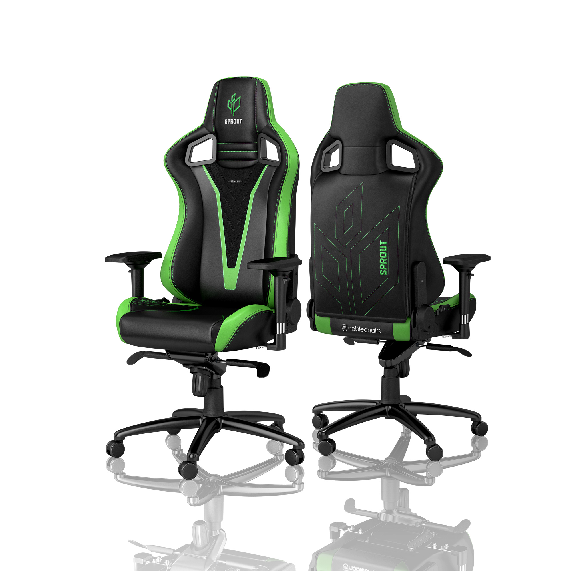 Zocker Sessel Extrem Sprout Esports Special Edition Der Noblechairs Epic Gaming Reihe