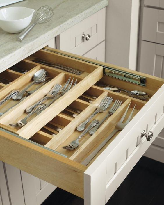 practical kitchen drawers layer extra space practical kitchen drawer organization ideas shelterness