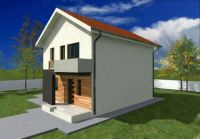 Small Two Story House Plans With Balcony